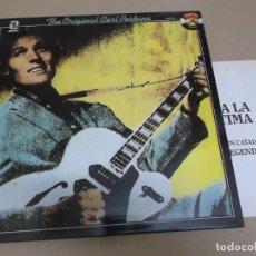 Discos de vinilo: CARL PERKINS (LP) THE ORIGINAL AÑO 1986 – CATALOGO CHARLY RECORDS. Lote 221515082