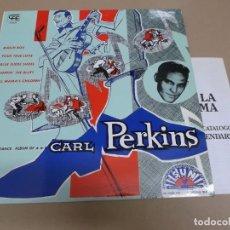Discos de vinilo: CARL PERKINS (LP) DANCE ALBUM AÑO 1984 – CATALOGO CHARLY RECORDS. Lote 221515116