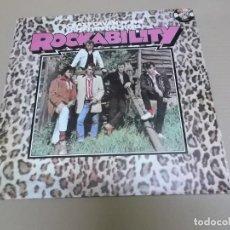 Discos de vinilo: CRAZY CAVAN 'N' THE RHYTHM ROCKERS (LP) ROCKABILITY AÑO 1978. Lote 221515168