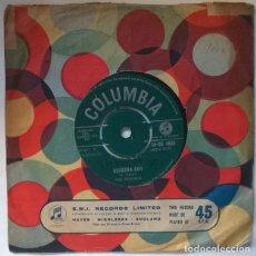 Discos de vinilo: THE REGENTS. BARBARA-ANN/ I'M SO LONELY. COLUMBIA, UK 1961 SINGLE. Lote 221515887