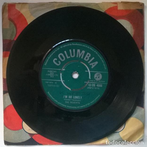Discos de vinilo: The Regents. Barbara-Ann/ Im so lonely. Columbia, UK 1961 single - Foto 3 - 221515887