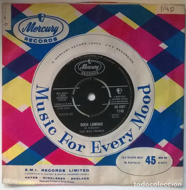 THE MUS-TWANGS. MARIE/ ROCH LOMOND. MERCURY, UK 1961 SINGLE (Música - Discos - Singles Vinilo - Rock & Roll)