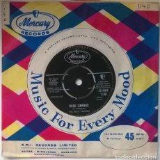 Discos de vinilo: THE MUS-TWANGS. MARIE/ ROCH LOMOND. MERCURY, UK 1961 SINGLE. Lote 221516121