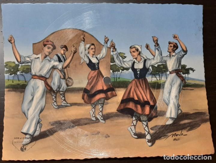 ANTIGUA POSTAL SONORA - PHONOPHOTO - FANDANGO (Música - Discos - Singles Vinilo - Flamenco, Canción española y Cuplé)