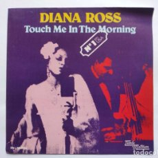 Discos de vinilo: DIANA ROSS - SPAIN PS - MINT * TOUCH IN THE MORNING * (SE VENDE SÓLO PORTADA SIN VINILO EN INTERIOR). Lote 221521861