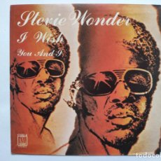 Discos de vinilo: STEVIE WONDER - SPAIN PS - MINT * I WISH * SE VENDE SÓLO PORTADA SIN VINILO EN INTERIOR. Lote 221521985