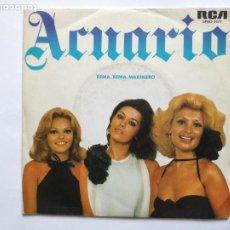 Discos de vinilo: ACUARIO - REMA, REMA MARINERO. Lote 221526008