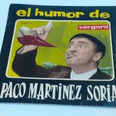 Discos de vinilo: EL HUMOR DE PACO MARTINEZ SORIA (3396). Lote 221526333