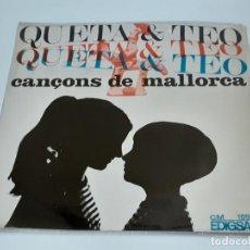 Discos de vinilo: QUETA Y TEO (3398). Lote 221526442