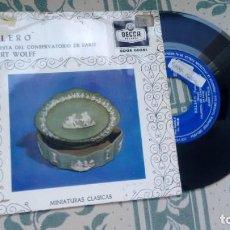 Discos de vinilo: SINGLE (VINILO) DE ORQUESTA DEL CONSERVATORIO DE PARIS AÑOS 60. Lote 221526453
