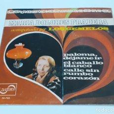 Discos de vinilo: MARIA DOLORES PRADERA (3399). Lote 221526517