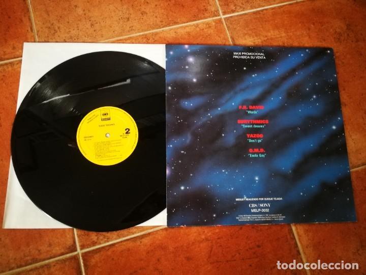 Discos de vinilo: TODO TECHNO MAXI SINGLE VINILO PROMO ESPAÑA 1992 EURYTHMICS OMD YAZOO ULTRAVOX KRAFTWERK HEAVEN 17 - Foto 2 - 202353805