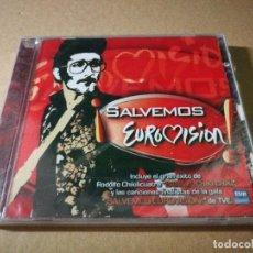 Discos de vinilo: RODOLFO CHIKILICUATRE BAILA EL CKIKI CHIKI CD PRECINTADO EUROVISION 2008 SALVEMOS EUROVISION. Lote 221527632