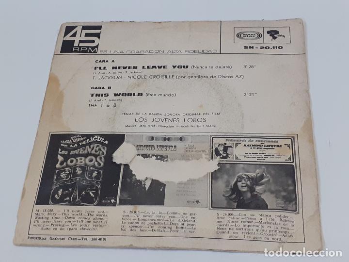 Discos de vinilo: LOS JOVENES LOBOS (3404) - Foto 2 - 221527808