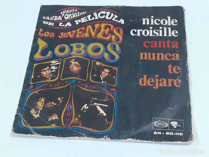 LOS JOVENES LOBOS (3404) (Música - Discos - Singles Vinilo - Bandas Sonoras y Actores)