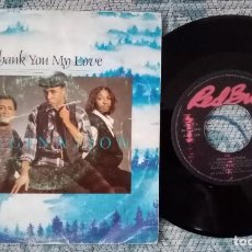 Discos de vinilo: SINGLE IMAGINATION - THANK YOU MY LOVE - ¡UNICO ENVIO A FINAL DE MES!. Lote 221532548