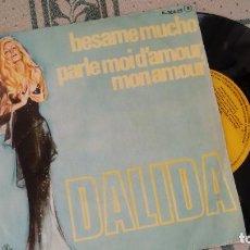 Discos de vinilo: SINGLE ( VINILO) DE DALIDA AÑOS 70. Lote 221539916