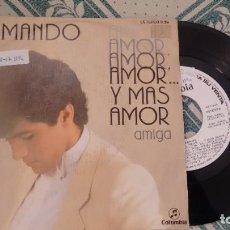 Discos de vinilo: SINGLE (VINILO)-PROMOCION- DE ARMANDO AÑOS 80. Lote 221540292