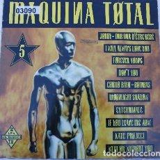 Discos de vinilo: MAQUINA TOTAL 5 - 2 × LP GATEFOLD SPAIN 1993. Lote 221542712