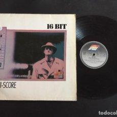 """Discos de vinilo: 16 BIT HI-SCORE - EXTENDED 12"""" GERMANY. Lote 221544555"""