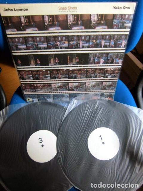 BEATLES JOHN LENNON DOBLE LP EDICION NO OFICIAL EXCELENTE ESTADO DE CONSERVACION COLECCION PRIVADA (Música - Discos - LP Vinilo - Pop - Rock Internacional de los 50 y 60)