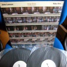 Discos de vinilo: BEATLES JOHN LENNON DOBLE LP EDICION NO OFICIAL EXCELENTE ESTADO DE CONSERVACION COLECCION PRIVADA. Lote 221544782