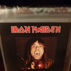 Discos de vinilo: IRON MAIDEN / BRUCES AUDITION TAPE / NOT ON LABEL. Lote 221549061