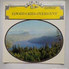 Discos de vinilo: EDVARD GREIG. PEER GYNT. THE HAMBURG STATE OPERA ORCHESTRA LP. TDKLP. Lote 221551107