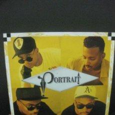 Discos de vinilo: PORTRAIT. PORTRAIT. LP HIP HOP. CAPITOL RECORDS 1992. Lote 221552067