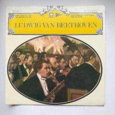 Discos de vinilo: LUDWIG VAN BEETHOVEN. SINFONIA Nº 2 EN RE MAYOR OP. 36. THE LONDON SYMPHONY ORCHESTRA LP. TDKDA77. Lote 221553132
