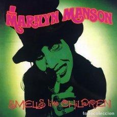 Discos de vinilo: MARILYN MANSON LP SMELLS LIKE CHILDREN CON POSTER REEDICION VINILO MUY RARO COLECCIONISTA. Lote 221556085