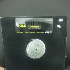 Discos de vinilo: SHAI TONIGHT I DON'T WANNA BE ALONE. THE REMIX WITH JAY-Z. LP 1995.. Lote 221557291