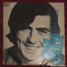 Discos de vinilo: JOAN MANUEL SERRAT (SAPS / CAMI AVALL) SINGLE 1969. Lote 221557680