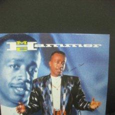 Discos de vinilo: M.C. HAMMER. LET'S GET IT STARTED. LP CAPITOL 1991.. Lote 221557757