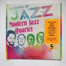Discos de vinilo: LOS GRANDES DEL JAZZ COLECCION LP Nº 5. MODERNA JAZZ QUARTET. TDKLP. Lote 221558905