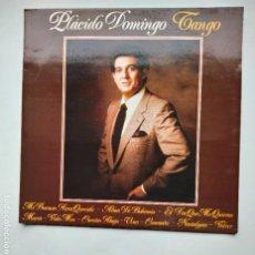 Discos de vinilo: PLACIDO DOMINGO. TANGO. LP. TDKLP. Lote 221558980