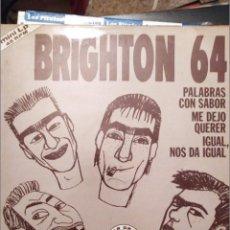 Discos de vinilo: BRIGHTON 64 + LOS RONALDOS, 1987 EMI PROMOCIONAL MINI LP. Lote 221560788