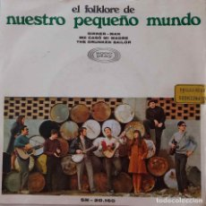 Discos de vinilo: NUESTRO PEQUEÑO MUNDO. (JOAQUÍN DÍAZ). SINNER MAN. SINGLE ESPAÑA 3 TEMAS. Lote 221560832