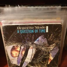 Discos de vinilo: DEPECHE MODE / A QUESTION OF TIME / EDICIÓN FRANCESA / MUTE 1986. Lote 221564462