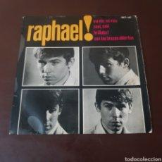 Discos de vinilo: RAPHAEL ! MI VIDA - CASI CASI - BRILLABA ! CON LOS BRAZOS ABIERTOS 1964. Lote 221566650