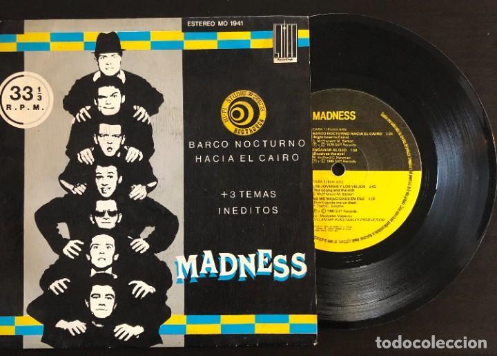 MADNESS  BARCO NOCTURNO HACIA EL CAIRO +3 TEMAS INEDITOS MO 1941 SPAIN 1980 EP VG+ VG+ (Música - Discos de Vinilo - EPs - Reggae - Ska)