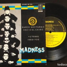 Discos de vinilo: MADNESS  BARCO NOCTURNO HACIA EL CAIRO +3 TEMAS INEDITOS MO 1941 SPAIN 1980 EP VG+ VG+. Lote 221567478