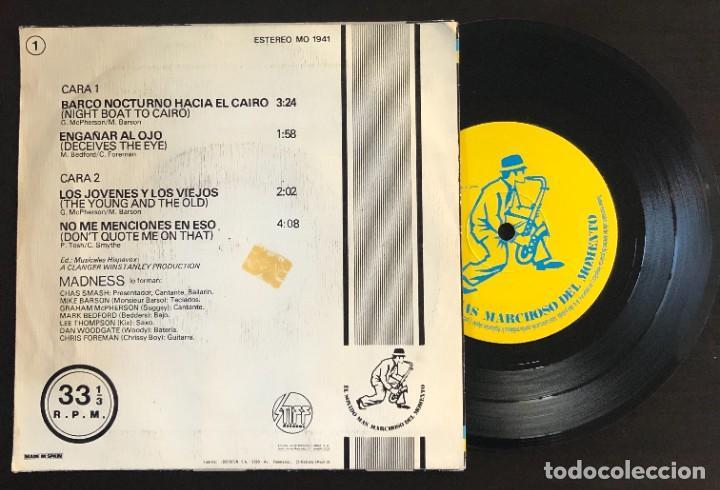 Discos de vinilo: Madness  Barco Nocturno Hacia El Cairo +3 Temas Ineditos MO 1941 spain 1980 EP VG+ VG+ - Foto 2 - 221567478