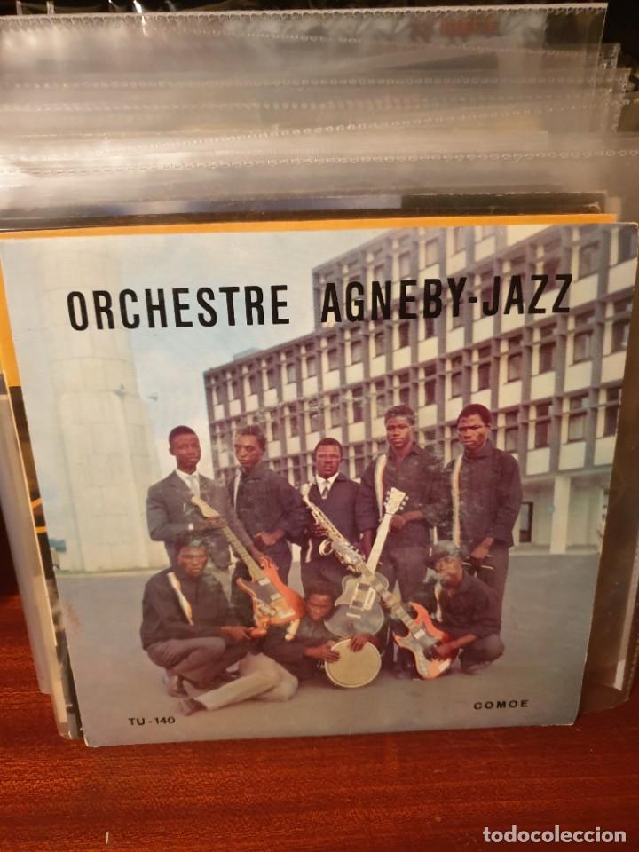 ORCHESTRE AGNEBY - JAZZ / MEMON SA MAYI / COMOE (Música - Discos de Vinilo - EPs - Funk, Soul y Black Music)