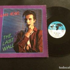 "Discos de vinilo: ALAN ROSS THE LAST WALL - EXTENDED 12"" ITALO DISCO ITALY. Lote 221570695"
