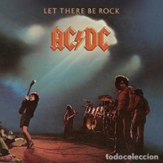 Discos de vinil: LP AC/DC LET THERE BE ROCK VINILO ACDC HEAVY METAL. Lote 221570990