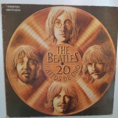 Discos de vinilo: THE BEATLES - 20 EXITOS DE ORO- SPAIN LP 1979 + ENCARTE.. Lote 221571333