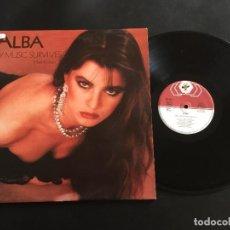 "Discos de vinilo: ALBA ONLY MUSIC SURVIVES - EXTENDED 12"" ITALO DISCO FRANCE. Lote 221572225"