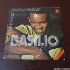 Discos de vinilo: BASILIO - JAMAS LA OLVIDARE. Lote 221572765