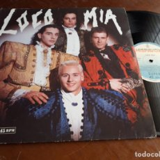 Discos de vinilo: LOCO MIA ?– LOCO MIA-MAXI-ESPAÑA-1989-HISPAVOX ?– 052 20 3468 6. Lote 221573816